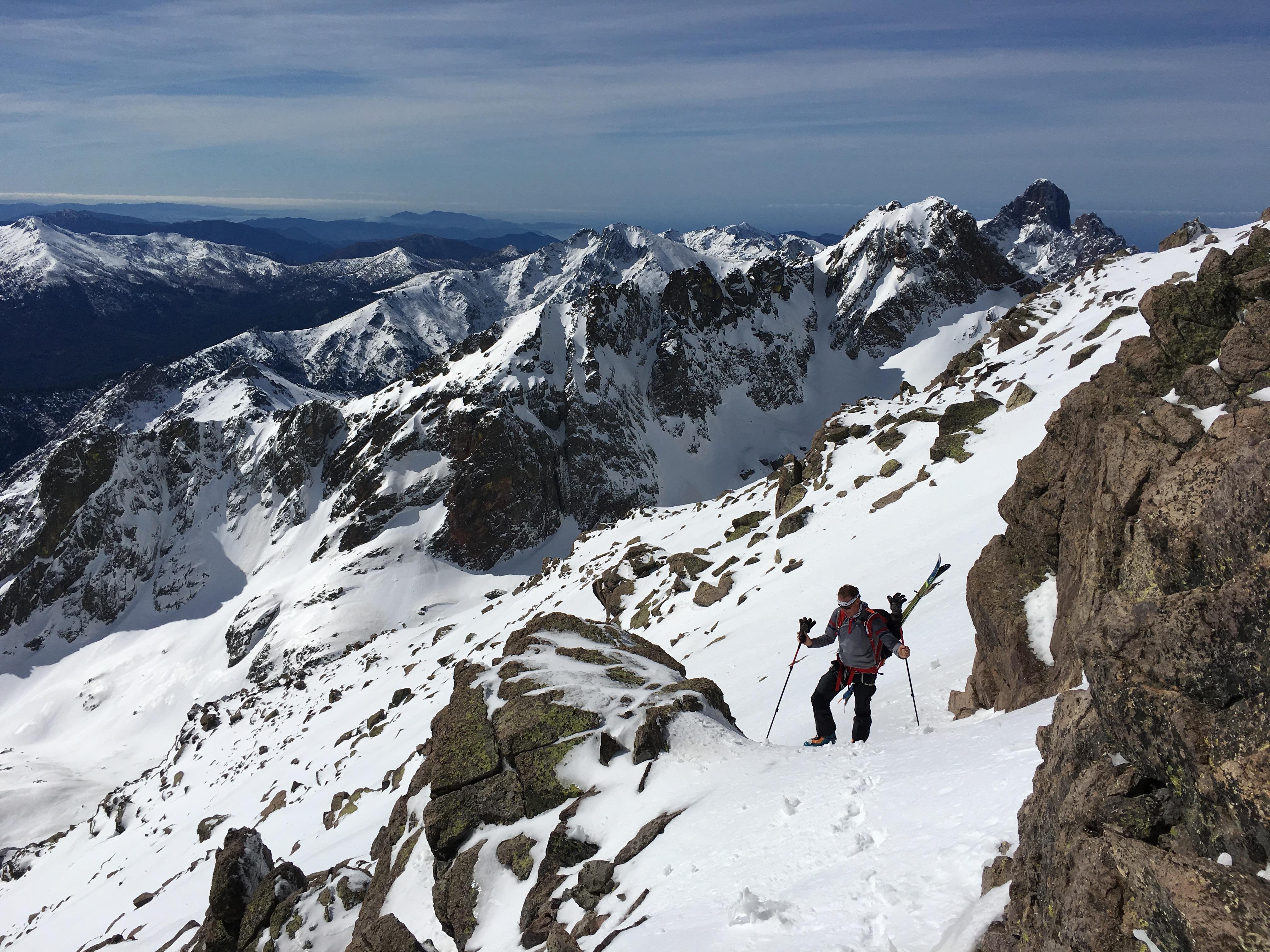 Ascension du Monte Cintu 2710 mètres