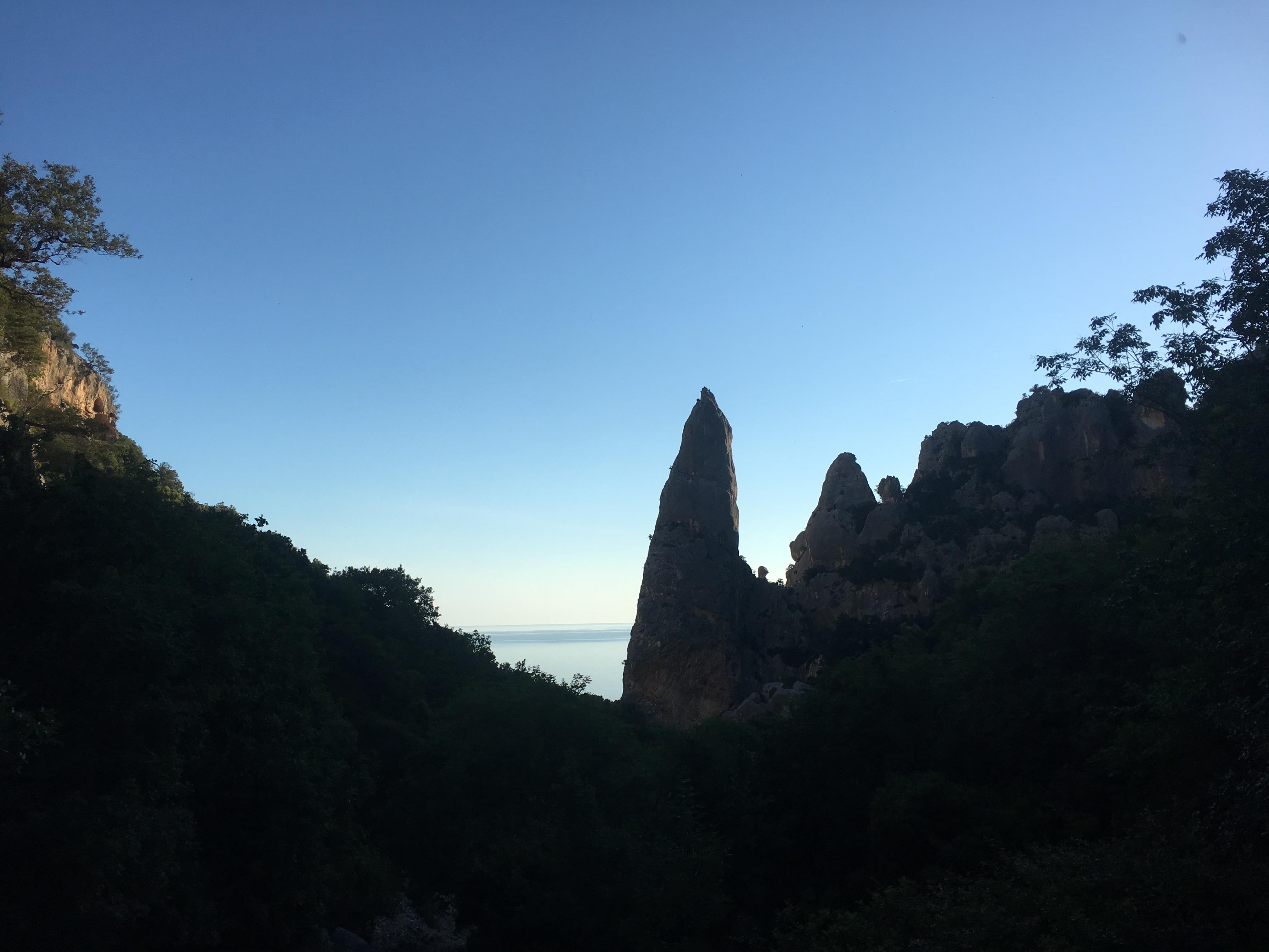 Escalade en grande voie en Sardaigne