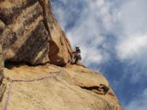 Escalade en Corse en terrain d'aventure