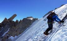 Stage goulotte de glace à Chamonix