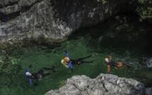 Rando canyon à Bavella
