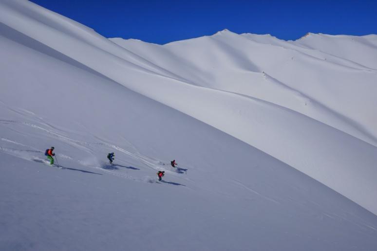 Voyage en Iran en ski de randonnée