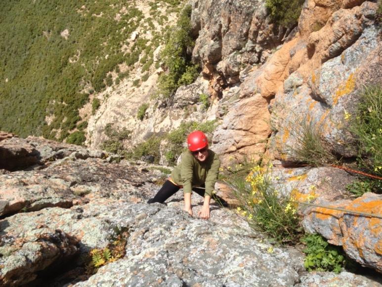 Escalade au Monte Gozzi