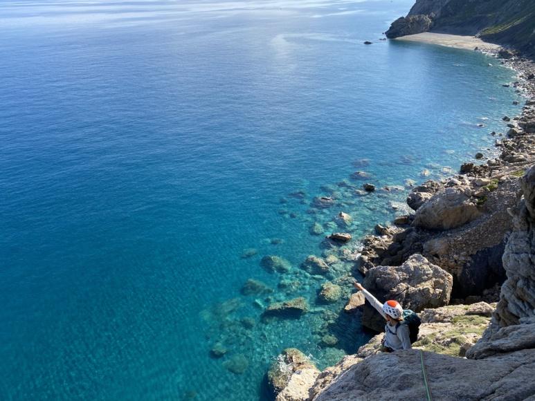 Climbing trip in Sicily