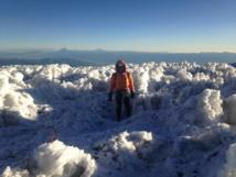 Sommet du Chimborazo et ses 6310 mètres