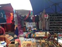 Le marché d'Otavalo et ses couleurs