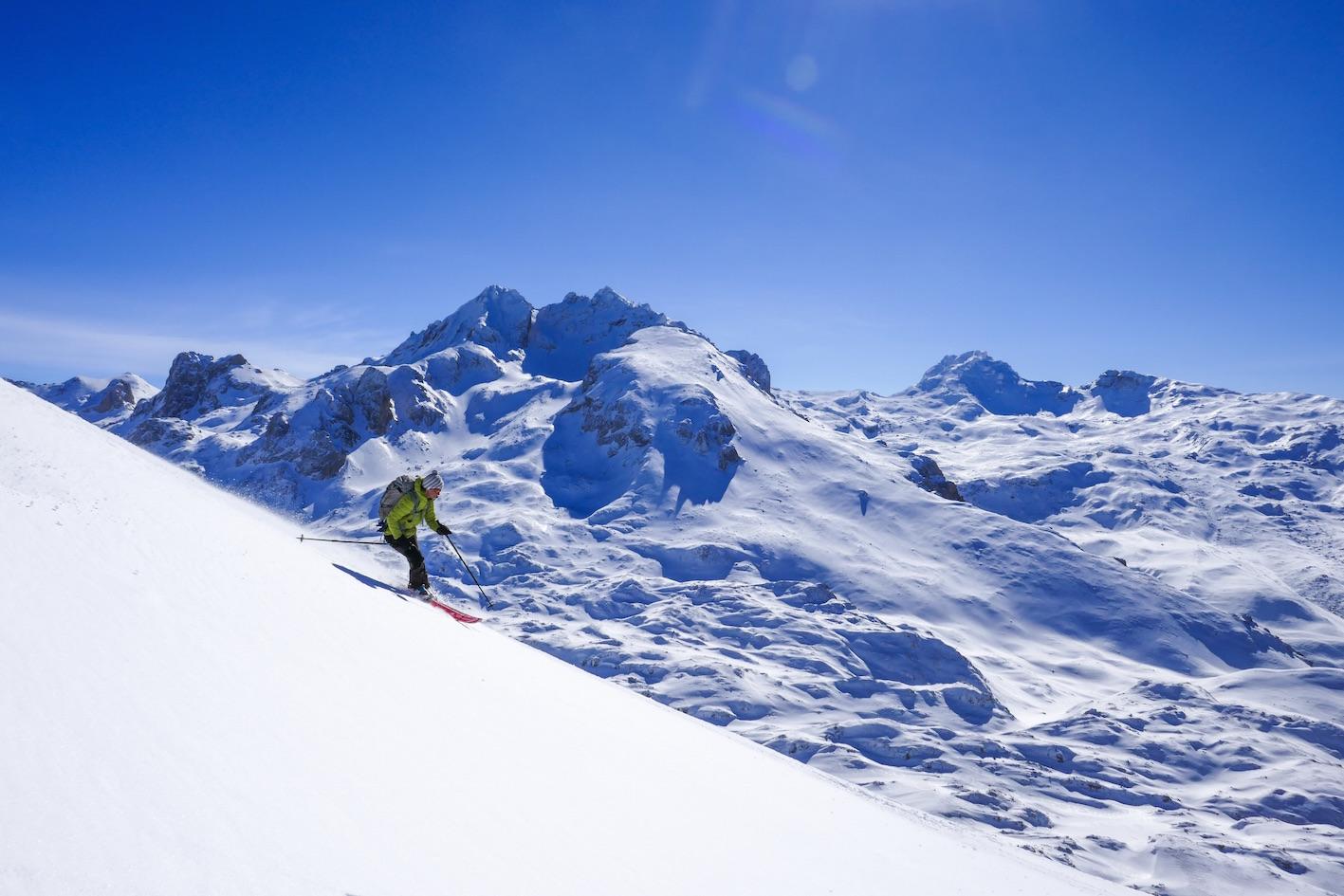 Ski de randonnée en Albanie