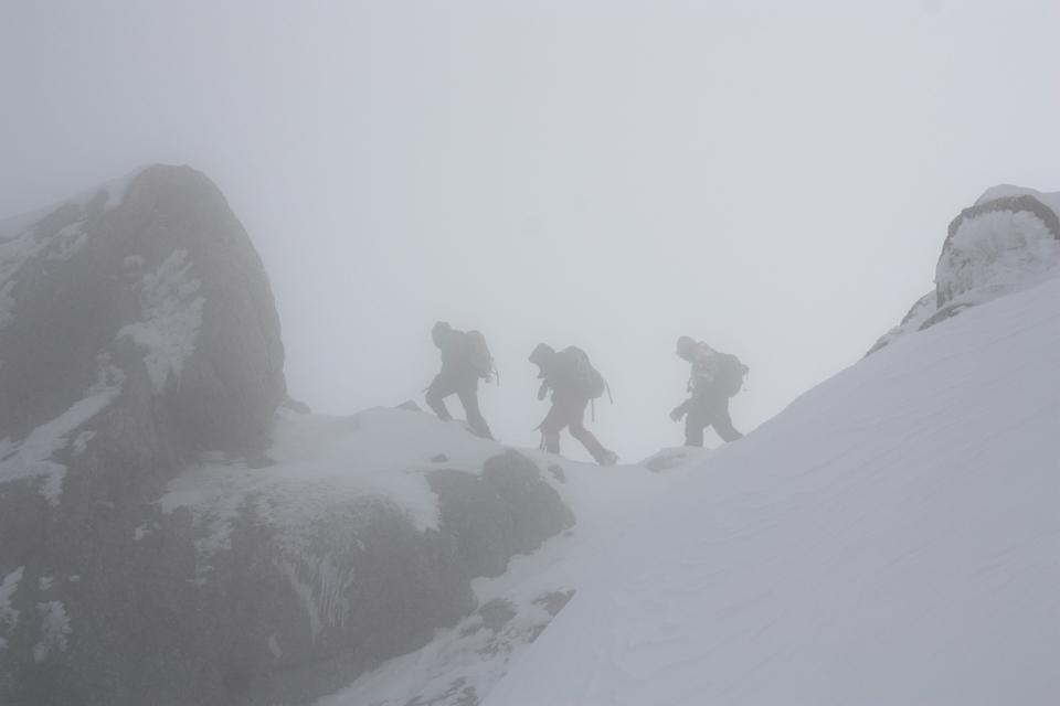 Préparation Mont Blanc