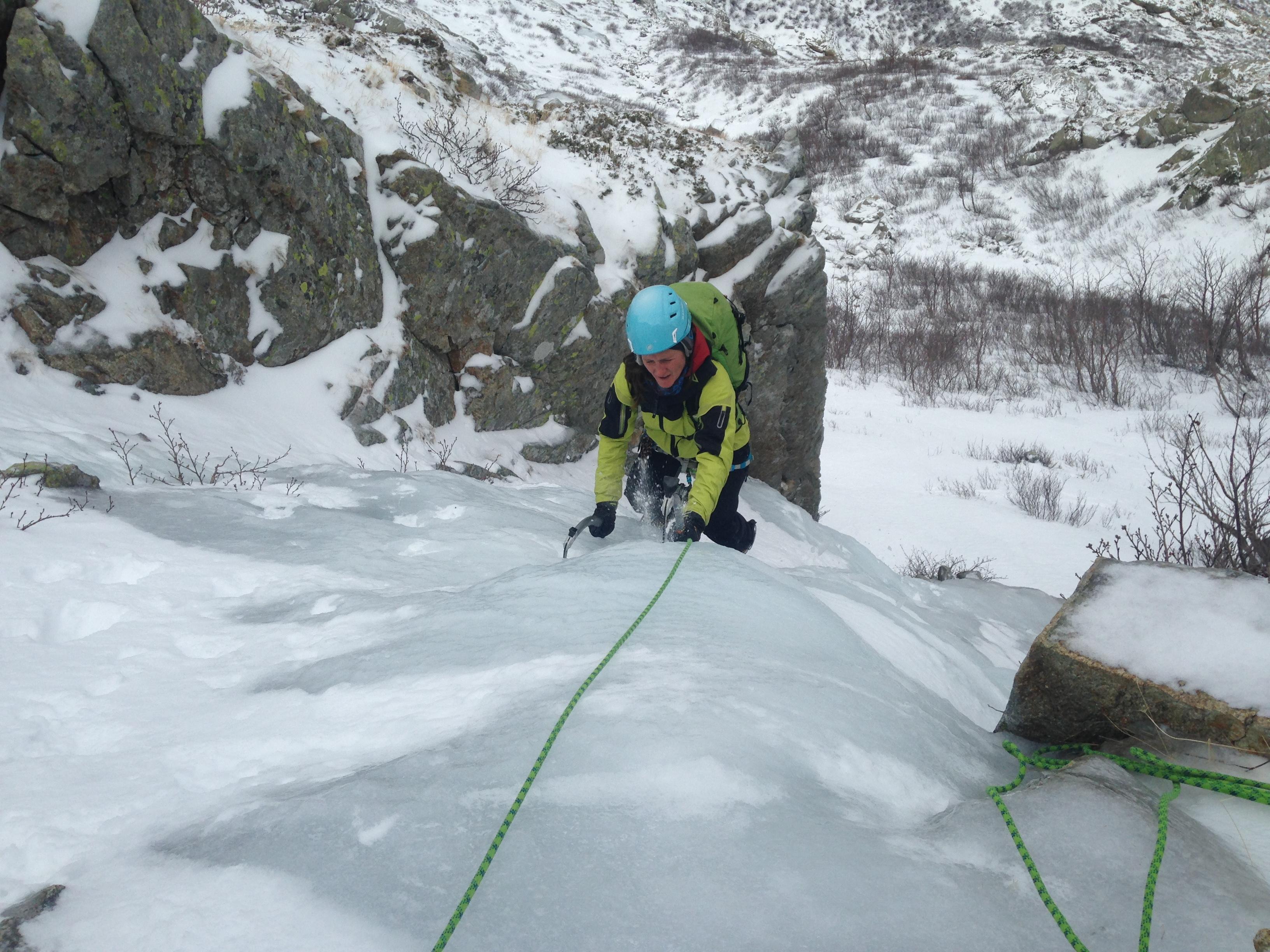 Alpinisme à la mode corse