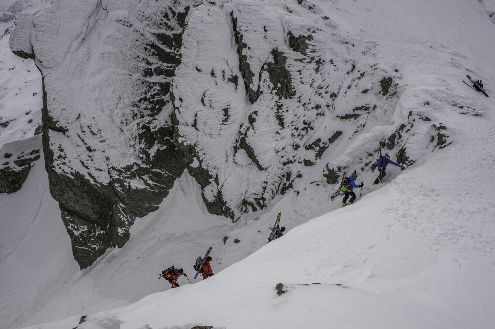 Les montagnes corses en hiver