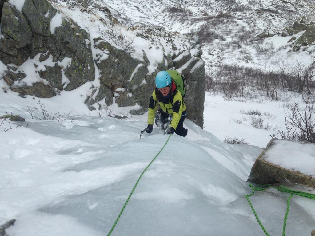 La glace en Corse : cascades et goulottes