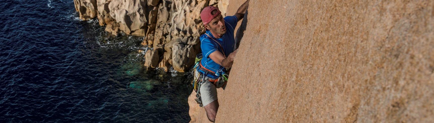 L'escalade en Corse dans la région de Porto